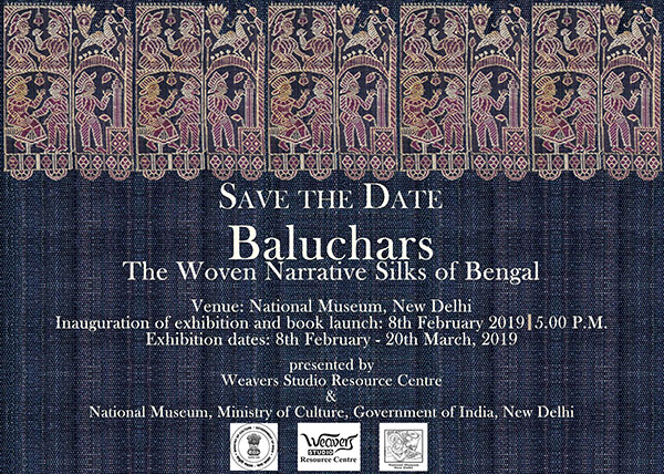 Baluchars: The Woven Narrative Silks of Bengal