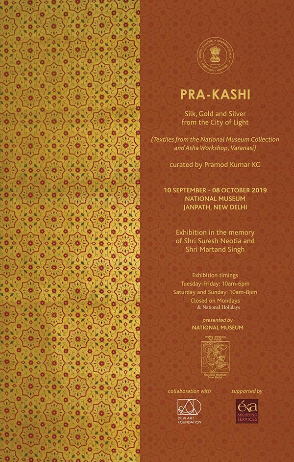 PRA-KASHI: Silk, Gold and Silver from the City of Light